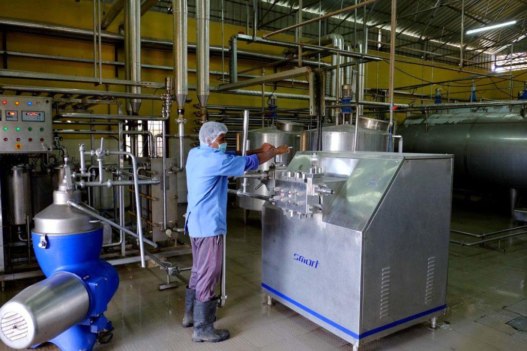 Alepa Dairy Milk Processing