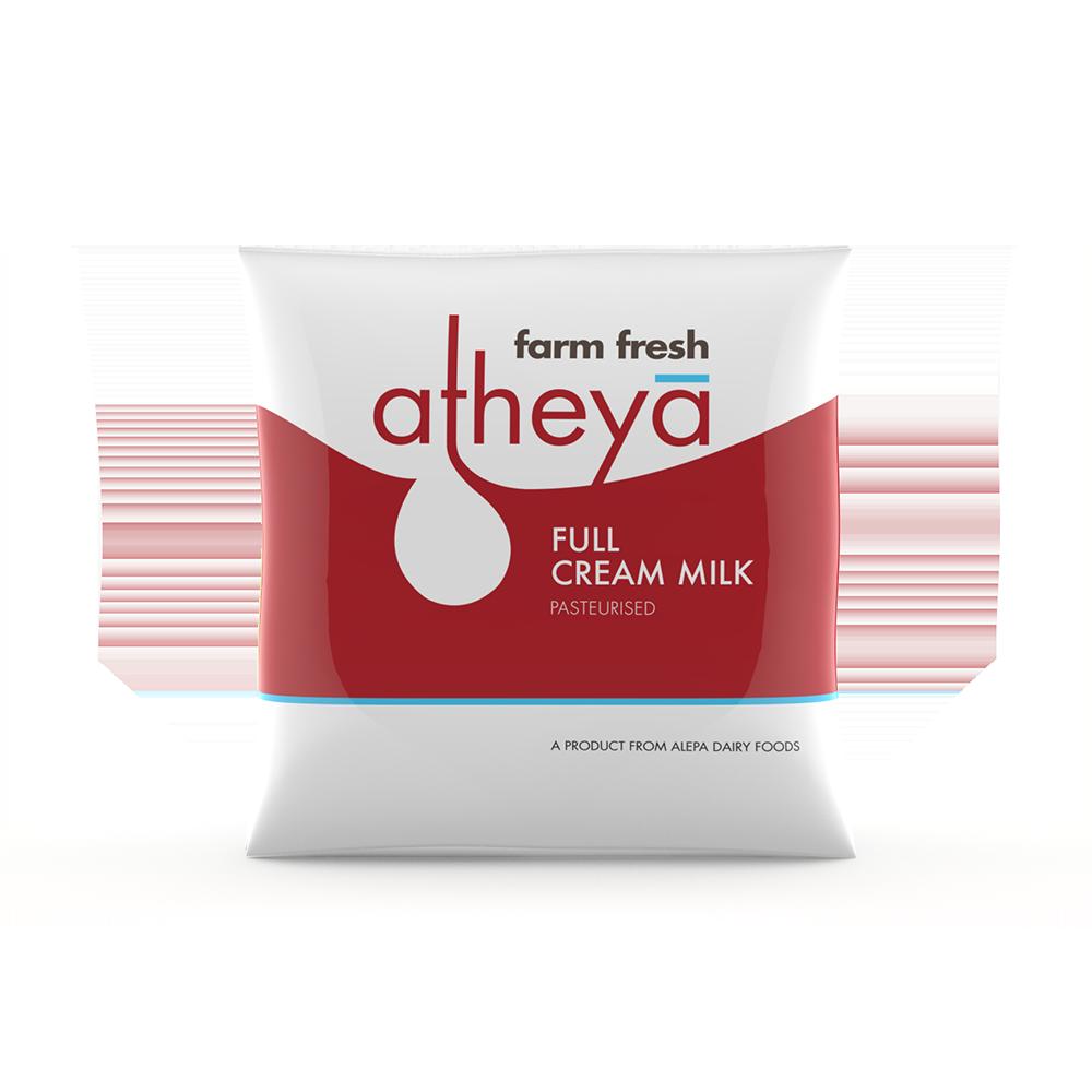 Atheya Full Cream Milk 500 ml Pouch